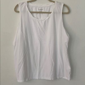 Never been worn white twisted tank top!